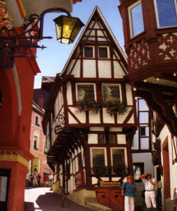 Rothenburg Germany escorted tour to the Rhine and Black Forest towns